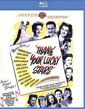 Thank Your Lucky Stars [Blu-ray], Excellent DVD, Ann Sheridan, Dennis Morgan, Id