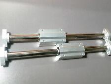 "2 x 20mm 16"" Hardened Shafts & 2 Long Linear Blocks SCS20LUU Rail Bearing Motion"