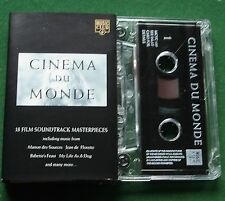 Cinema du Monde inc Manon des Sources Jean de Florette + Cassette Tape - TESTED