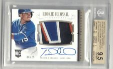2014 National Treasures Colossal Travis D'Arnaud Auto Patch 6/25 BGS 9.5/10 Mets