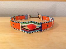 African-Arena Handmade Maasai Masai Beaded Tribal Choker Jewelry Necklace AA818