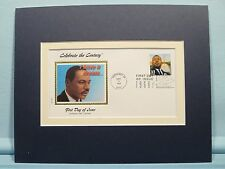 "Martin Luther King - ""I Have a Dream"" and the First day Cover of his own stamp"