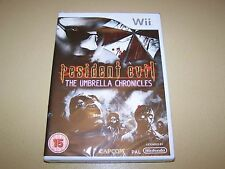 Resident Evil The Umbrella Chronicles For Wii **New & Sealed**.