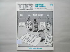 TOPS LEARNING SYSTEMS 06 Metric Measure 20 Task Card Series RON & PEG MARSON
