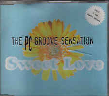 The PC Groove Sensation-Sweet Love cd maxi single 8 tracks eurodance