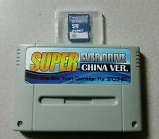 Super Everdrive SNES SFC Flash Cart with 8gb NEW Card !! 1100 games Nintendo