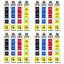 16 Ink Cartridges for Epson Stylus D92 DX5000 DX7450 BX300F SX100 SX218 SX610FW
