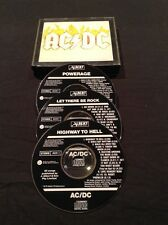 AC/DC BOX SET CD X 3 HIGHWAY TO HELL  ALBERT PRODUCTIONS EARLY AUSTRALIA PRESS