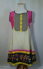 GILI Kurta Ladies Ethnic Dress Top Tunic Sz L