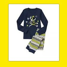 NWT 2T Gymboree GYMMIES sleepwear PJs Pajamas 2pc SKULL CROSSBONES PUZZLE PIECE