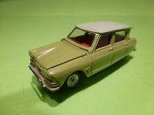 DINKY TOYS 557 CITROEN 3CV AMI 6 - 1:43 - RARE SELTEN - NEAR MINT CONDITION