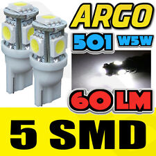 5 SMD LED XENON WHITE 501 T10 W5W SIDELIGHT BULBS MERCEDES BENZ E CLASS ESTATE