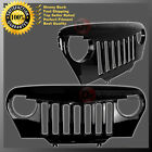 97-06 Jeep Wrangler TJ ABS Black Angry Bird Overlay Packaged Grille Shell