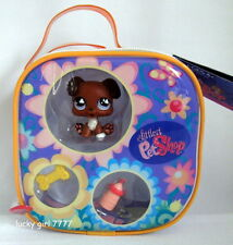 *NEW* Littlest Pet Shop Vinyl Carry Case BOXER PUPPY DOG 657 VHTF FREE SHIPPING