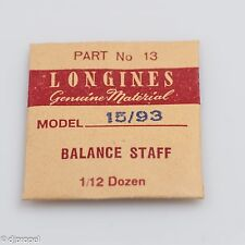 Longines Genuine Material Balance Staff Part 13 for Longines Model 15/93