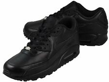 Nike Air Max M90 Black Leather Sneakers US 9 Brand New