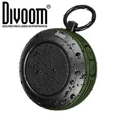 Divoom Voombox Travel Rugged Bluetooth Splash Resistant Outdoor Speaker GREEN