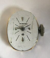 Hamilton cal. 780 Wrist Watch Movement Running, 17 Jewel for parts or repair