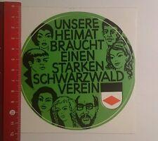 Aufkleber/Sticker: unsere Heimat braucht einen Schwarzwald Verein (200916144)
