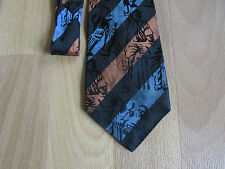 Various CRICKET Images Polyester Tie