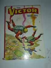 THE VICTOR BOOK for BOYS - Annual - Year 1969 - UK Annual ( Price Tab Removed)