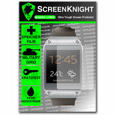 ScreenKnight Samsung Galaxy Gear SCREEN PROTECTOR invisible military shield