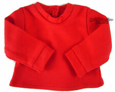 "Red Long Sleeve T-Shirt Winter Turtleneck for 18"" American Girl Doll Clothes"