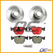2 Front Disc Brake Rotors KIT With Pads Brembo BMW E39 540i 2000-2003