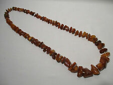 ANCIEN COLLIER EN AMBRE OLD AMBER NECKLACE