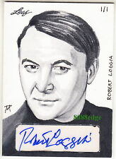 2014 POP CENTURY MATTHEW AMOR SKETCH AUTO: ROBERT LOGGIA #1/1 OF ONE AUTOGRAPH