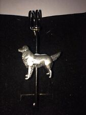 "Golden Retriver DR52 Bufanda, broche y Kilt Pin estaño 3"" 7.5 Cm"