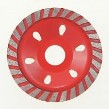 "99035352 100mm 4"" Diamond Grinding Wheel Concrete Marble Angle Grinder Disc"