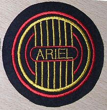 CLASSIC ARIEL MOTORCYCLES PATCH/RED HUNTER/SQUARE FOUR