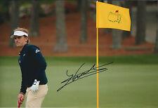 Joost LUITEN SIGNED Autograph 12x8 Photo AFTAL COA US PGA The Masters AUGUSTA