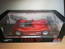 HOT WHEELS FERRARI F333 SP LIMITED EDITION 1/18