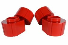 "Jeep 2"" RED Poly Spacer Lift Kit SET OF 4 Fits Grand Cherokee ZJ Wrangler TJ"