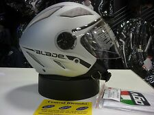 CASCO AGV BLADE AIR NET SILVER M MOTORCYCLE HELMET HELM CASQUE AGV