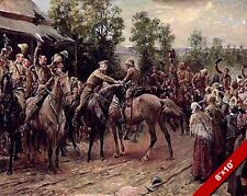 BRITISH RELIEF 2ND BOER WAR PAINTING MILITARY HISTORY ART REAL CANVAS PRINT