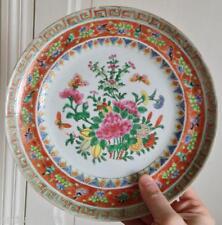 Belle assiette porcelaine Chine Art d'asie Compagnie des Indes ou Samson ?