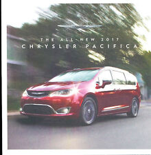 2017 Chrysler Pacifica Van 16-page Original Car Sales Brochure Catalog - 2016