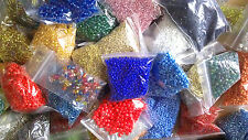 445g Glass Seed Beads - Random Mix