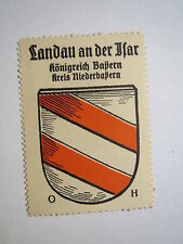Landau an der Isar / Reklamemarke Kaffee Hag - Wappen