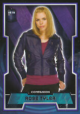 Topps 2015 Doctor Who Tardis Logo Basic Card Variant #42 Rose Tyler