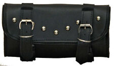 Vance Leather 2 Strap Studded Tool Bag with Quick Releases VS112