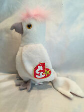 Collectible 1997 TY Retired Beanie Baby KUKU Bird ERROR TAGS Wrong Dates
