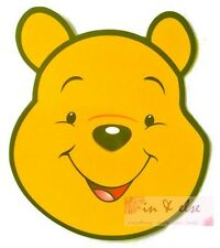 WINNIE THE POOH Car Road Tax Disc Holder Vacuum Decal Sticker