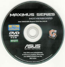 ASUS MAXIMUS II FORMULA or MAXIMUS Motherboard Drivers Installation Disk M1277