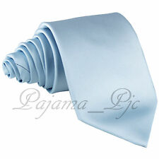 Formal Classic Men's New Microfiber Satin Solid Neck tie Prom Wedding