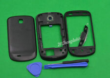 For Samsung Galaxy mini S5570 Black Housing Middle Frame +Front +Battery Cover