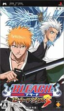 Used PSP Bleach Heat the Soul 3  SONY PLAYSTATION JAPAN IMPORT